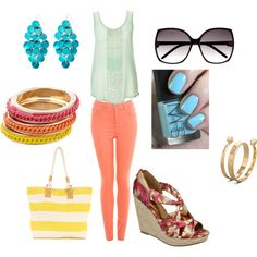 Color Splash, created by graciaweston on Polyvore