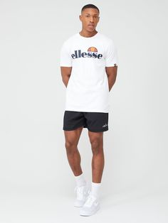 Ellesse Ellesse Sport Olivo Shorts, Black, Size S, Men - Black - S Ellesse, Sports Brands, Trouser Suits, Basic Style, Tie Knots, Signature Style, Size Model, Kids Fashion, Suit Jacket
