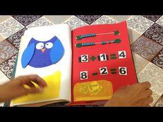 Como Fazer Livro Educativo Quiet Book em EVA e Filtro - DIY Artesanato - YouTube