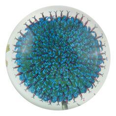 John Derian Company Inc — Blue Flower paperweight