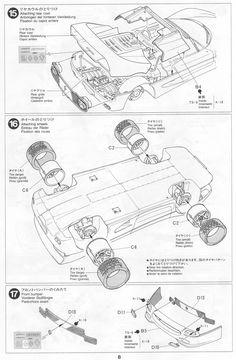 23 best tamiya 1 24 ferrari f50 images ferrari tamiya decal 1954 Oldsmobile Super 88 tamiya user experience ferrari