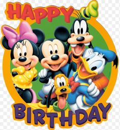 Mickey Mouse is a cartoon mouse character who usually wears the white gloves, red shorts and yellow shoes. Mickey Mouse became one of the most remarkable Disney Disney Happy Birthday Images, Happy Birthday Mickey Mouse, Happy Birthday Disney, Birthday Wishes For Kids, Happy Birthday Wishes Cards, Happy Birthday Pictures, Happy Birthday Quotes, Disney Birthday Quotes, Birthday Signs