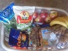 Good mix of grab and go snacks and good for the car.  Limited mess, easy open/peel and satisfying.