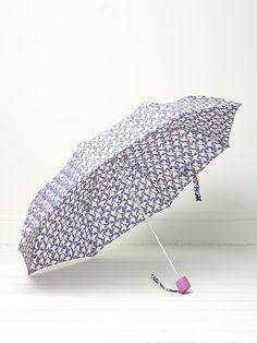 Tulip bird print umbrella