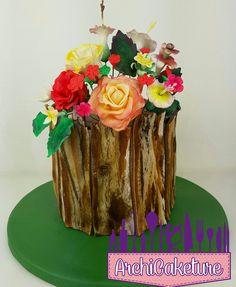 Wood Cake by Archicaketure