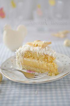 Gâteau coco-passion
