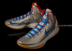 cee1a00a46fa kevin durant shoes 2013 Nike KD V Birch Lebron 15 Shoes