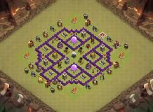 Townhall 8 War Base Clash of Clans Layout created by Darski. Try it out in the attack simulator, see previous attacks or modify it with the base builder Clash Of Clans Account, Clan Castle, Clash Of Clans Game, Barbarian King, Gems For Sale, Free Gems, Killua, Town Hall, Rome
