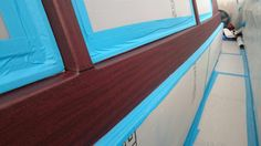 WGI share their latest images of the ‪#‎vinylwrap‬ that they are completing in the Hamble at Desty Marine International. The type of film used is a ‪#‎Dinoc‬ wood finish and one can see how carefully the team have lined up the wood grain leaving it looking exactly like the genuine article. Wild Group have an extensive array of different finishes available and every colour under the sun, enabling them to achieve some amazing and colour accurate finishes. www.wildgroupinternational.com