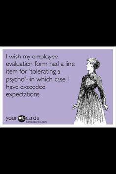Work appreciation!!
