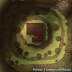 OC]The wizard cabin MAP : battlemaps Dungeons and dragons Dungeon maps Map