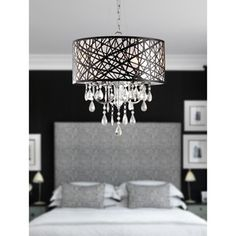 Shop for Indoor 4-light Chrome Antique Bronze Chandelier. Get free shipping at Overstock.com - Your Online Home Decor Outlet Store! Get 5% in rewards with Club O!