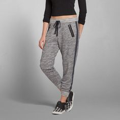 Womens Eve Textured Joggers | Womens Now Trending | Abercrombie.com
