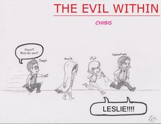 the evil within chibis by vanessathesbald