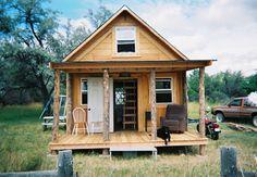 Woodsy Little Homesteader's Paradise Built For Only $2K