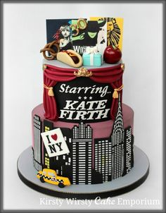 New York Musical Cake