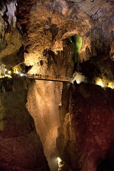 Škocjan Caves, Slovenia. Our world can be absolutely astonishing
