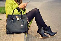 J'adore Fashion: Green Cardigan