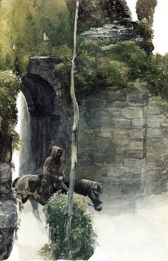 alan_lee_castles_pilgrimage01.jpg (1029×1600) - fantasy art