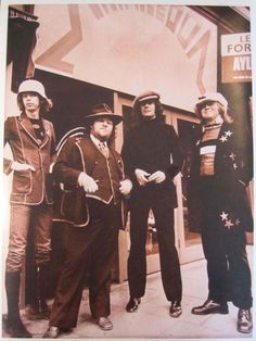 Tommy Roberts (second left) outside Mr Freedom.  Tommy later opened Practical Styling at the bottom of Centrepoint, one of my favourite shops of the 1980s.