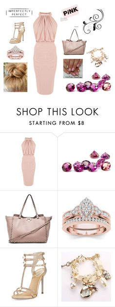 """Untitled #1117"" by krissybob ❤ liked on Polyvore featuring Valentino and René Caovilla"