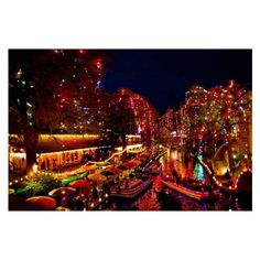 2016 Christmas in the Park Opening 60-Foot Tree Lighting Live Music... ❤ liked on Polyvore featuring home, home decor, holiday decorations, christmas holiday decor, xmas tree lights, music home decor, christmas tree lights and xmas lights