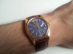 Nice Rolex DayDate ref 1803, beautiful dial/strap combo