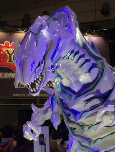 the Dorkymune — Blue Eyes White Dragon + bunch of Kuriboh fluffs...