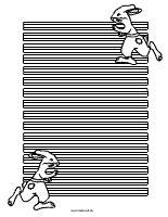 Briefpapier Hase