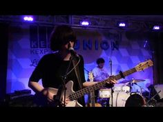"""Daughter performs """"Home"""" live from CMJ Union during CMJ Recorded October 2012 Host: Kevin Cole Audio Engineer: Kevin Suggs Cameras: Jim Beckmann,. Daughter Band, Hey You, Book 1, Soundtrack, Hold On, Lol, Concert, Music, Bass"""