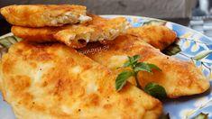 Τηγανόψωμα Greek Cheese Pie, Cheese Pies, Pie Recipes, Cooking Recipes, Cheese Pie Recipe, Greek Cooking, Kitchen Stories, Everyday Food, Mediterranean Recipes