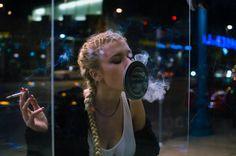 Girl smoking Raima Jade | Instagram @yabishrai #smoking #cigarettes #braids #girlsmoking #afterparty #letsrage