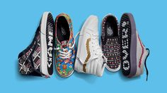 Nintendo and footwear brand Vans have teamed up to create a set of shoes inspired by classic titles like Super Mario Bros. and Donkey Kong Vans X, Vans Shoes, New Shoes, Vans Footwear, Converse, Donkey Kong, Nintendo, Gq, Vans 2016