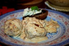 Swiss Meatballs (Fleisch-Chuegeli) are very tasty!!!