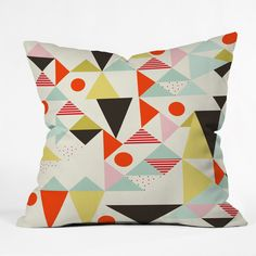 Hello Twiggs Modern Art Throw Pillow | DENY Designs Home Accessories
