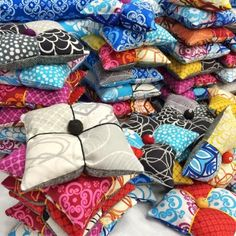 Pin Cushions made From MYSTIC, Valori's new line with Robert Kaughman