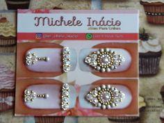 Nice Nails, Fun Nails, Nail Jewels, Manicures, Perfume, Stud Earrings, Nail Art, Jewelry, Art Nails