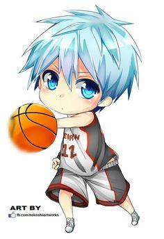 anime wallpaper kuroko no basket chibi Chibi Kawaii, Chibi Boy, Cute Anime Chibi, Cute Anime Boy, Anime Kawaii, Anime Guys, Fanarts Anime, Manga Anime, Anime Art