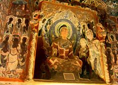 The cave of a thousand Buddha's, DunHuang Mogao Caves, Singing Sand Mountain, DunHuang city, China, forum, mystic familiar, free, mystic market shop, chatrooms, chat, psychic, development, shop, chat room, free psychic chat room