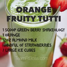 The ultimate resource for business minded fitness professionals Greenberry Shakeology, Beachbody Shakeology, Protein Shake Recipes, Protein Shakes, Smoothie Recipes, Healthy Shakes, Healthy Eats, Advocare Recipes, Shake Shake