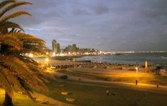 Sunset on Mar del Plata beaches, Buenos Aires, Argentina - #mardelplata #argentina