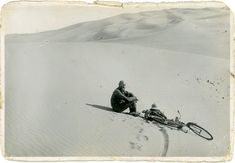 Long-Distance Cyclist Kazimierz Nowak - In the sketchy days before WWII, he rode the length of Africa twice — and alone.  http://adventure-journal.com/2016/01/historical-badass-long-distance-cyclist-kazimierz-nowak/