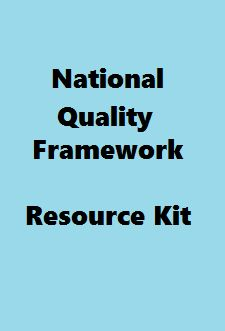 National Quality Framework Resource Kit - ACECQA  The following documents have been written to support the National Quality Framework.(1) Guide to the National Quality Framework(2) Guide to the National Law and National Regulations(3) Guide to the National Quality Standard(4) Guide to Developing a Quality Improvement PlanTemplates are available to download from the Educators & Providers Library. - See more at…