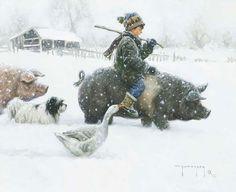 Pintura de Robert Duncan