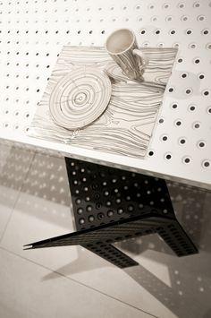 pattern by Oskar Zieta.  table: https://shop.zieta.pl/pl,p,27,100,_table.html  chair: https://shop.zieta.pl/pl,p,27,96,_chair.html