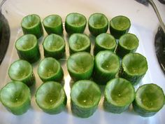 Cucumber Gin and Tonic Jello Shot, altho i'd use hendricks gin since it's distilled with cucumbers