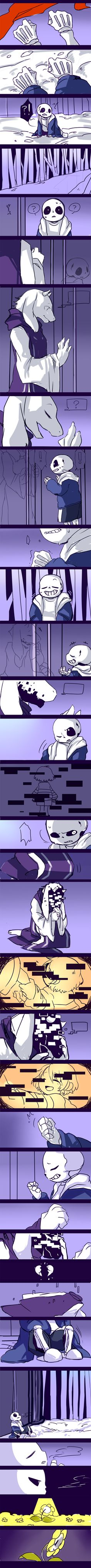 【if】A story after the game over of Suns. Serious talk isn't suitable for me! first Second half:. undertale-first Undertale Undertale, Frisk, Sans And Papyrus, Toby Fox, Underswap, Gifs, Bad Timing, Best Games, Fnaf