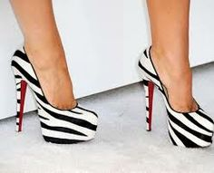 I love the print on these shoes..