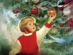 Donald Zolan oil painting of children/Erik's Delight