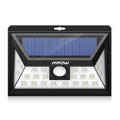 Noticias Ofertas y Oportunidades: Mpow 24 LED Foco Solar con Sensor de Angulo Ancho,...